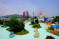 Fuji--qhochlandVergnügungspark in Japan Stockbilder