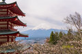 Fujisan the beautiful volcano in japan Royalty Free Stock Photo