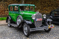 Fulda germany mai ford model a a model coupe retro car on in Royalty Free Stock Image