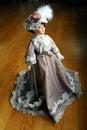 Full body elegant lady doll Royalty Free Stock Photography