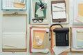 Full business desktop Royalty Free Stock Photo