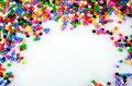 Full Color Beads Royalty Free Stock Photo