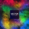Full Color Grunge Texture Vector Background Royalty Free Stock Photo