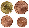 Full euro coins set - part 2 Royalty Free Stock Photo