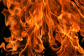 Full flame background Royalty Free Stock Photo