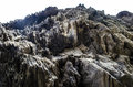 Full frame abstract rocky stone surface Royalty Free Stock Photo