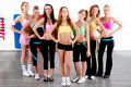 Full length of fit women Royalty Free Stock Photography