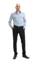 Full length portrait of a businessman Royalty Free Stock Photo