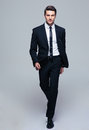 Full length portrait of a fashion male model Royalty Free Stock Photo