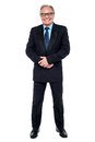 Full length portrait of a senior businessman Stock Photos