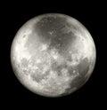 Full Moon Far Side Royalty Free Stock Photo