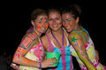 Full moon party in island Koh Phangan, Thailand Stock Image