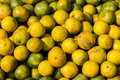 Full oranges pile Royalty Free Stock Photo