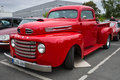 Full size pickup truck ford f ford bonus built berlin may the th berlin brandenburg oldtimer day Royalty Free Stock Photos