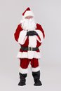Full size portrait of Santa Claus Royalty Free Stock Images