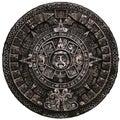 Full stone mayan calendar frnt view