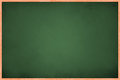 Full View of Green Board Royalty Free Stock Photo