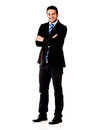 Fullbody business man Royalty Free Stock Photo