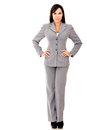 Fullbody business woman Royalty Free Stock Photos