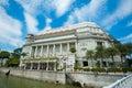 The Fullerton Hotel Singapore Royalty Free Stock Photo