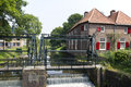 Fulling mill in amersfoort Royalty Free Stock Photos