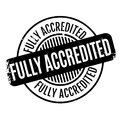 Fully Accredited rubber stamp