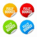Fully booked sticker