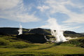 Fumarole Royalty Free Stock Images