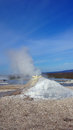 Fumarole at Hveravellir geothermal area in Iceland Royalty Free Stock Photo