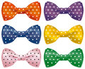 Fun bow ties Stock Image