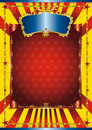 Fun circus poster Royalty Free Stock Photo