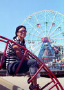Fun at Coney Island New York  Stock Images