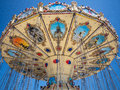 Fun Fair Carousel at Bournemouth Royalty Free Stock Photo