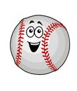 Fun happy baseball ball Stock Image