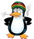 Fun jamaican pinguin