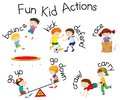Fun Kid Actions