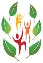 Fun Nature People Logo