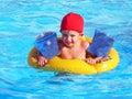 Zábava v bazén