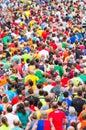People running marathon Royalty Free Stock Photo