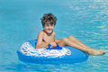 Fun time in aqua park in izmir turkey Royalty Free Stock Photos
