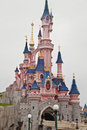 Fun time in disneyland paris france Stock Photos