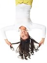 Fun upside down Royalty Free Stock Photo