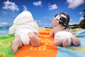Fun vacation Royalty Free Stock Photo