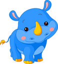 Fun zoo. Rhino