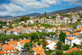 Funchal madeira island portugal beautiful view of Royalty Free Stock Photography