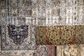 Fund persian carpets in a store in jordan Royalty Free Stock Image
