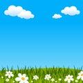Fundo de Easter ou de mola Fotografia de Stock Royalty Free