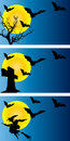 Fundo de Halloween Fotografia de Stock Royalty Free