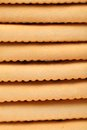 Fundo do biscoito de soda do saltine da estaca Foto de Stock