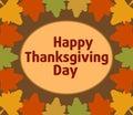 Fundo do dia de autumn thanksgiving Fotos de Stock